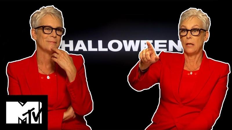 Jamie Lee Curtis Broke A Rib On Set With Michael Myers Halloween MTV Movies