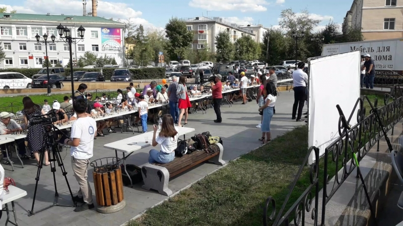В Улан-Удэ отметили 80-летие Октябрьского района 29.08.2018 г..