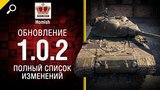 Обновление 1.0.2 - Полный Список Изменений - Будь готов! - от Homish [World of Tanks]