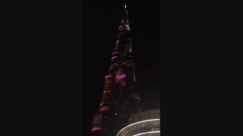 Дубай шоу на башне