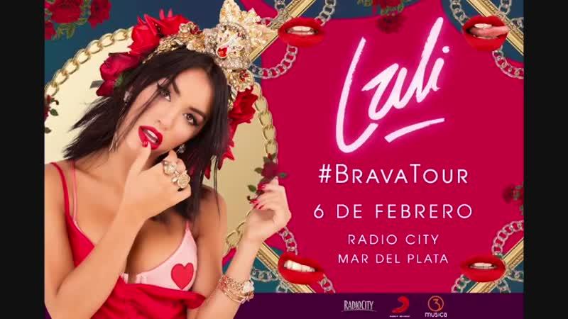 BRAVATour llega a MAR DEL PLATA!! 🌹🔥 El 6/2 en el RadioCity de MDQ 😍🙌🏻✨🏖🇦🇷❤️ Link para conseguir tu entrada en stories 😍⬆️