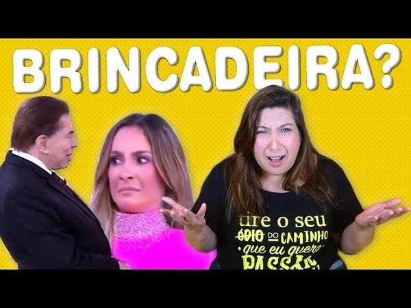 Cultura do Assédio O Machismo de Silvio Santos com Claudia Leitte no Teleton