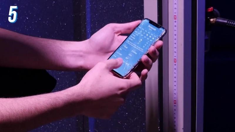 Galaxy S9 vs. iPhone X Drop Test!