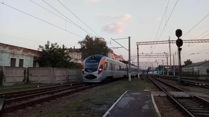 HRCS2 006 поезд №712 Константиновка Киев следует станцию Полтава Южная приветливая бригада
