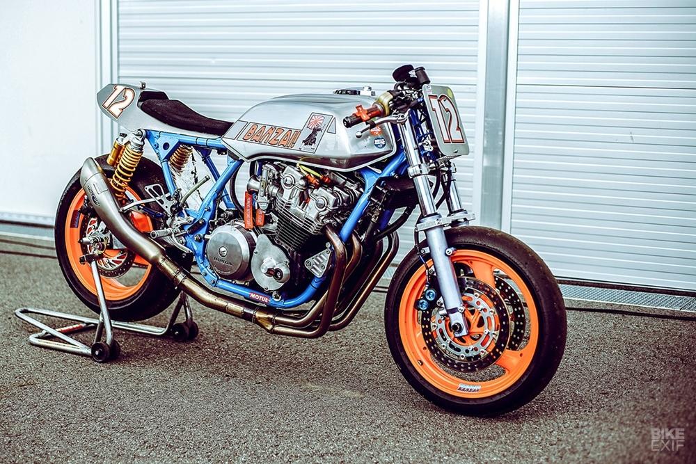 Гоночный кастом Honda CB900F SC09 Bol d'Or