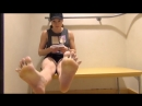 24 yo teen volleyball player girl candid sexy soles)