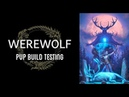 Werewolf PVP 🌕 Build Testing ESO Murkmire Wrathstone