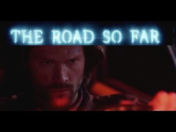 Supernatural Season 14 Opening credits, The road so far intro/ Angry Sam scene