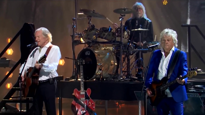 The Moody Blues at Rock Roll Hall of Fame 2018
