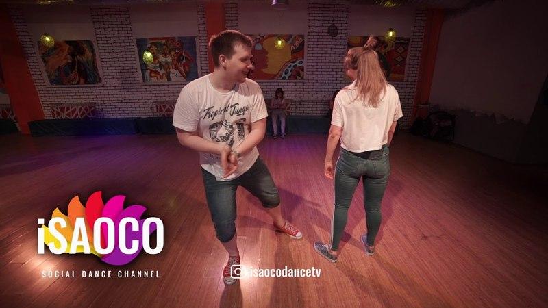 Ilya Kronberg and Olga Saprunova Salsa Dancing in Respublica Vosmera, Monday 30.04.2018