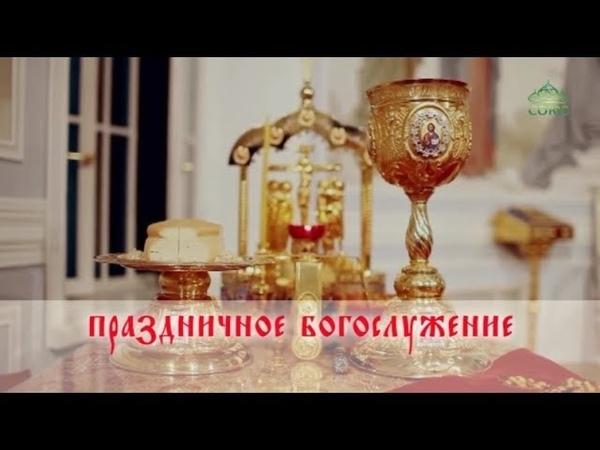 Пасхальное богослужение из Вознесенского кафедрального собора Новосибирска. 08.04.2018