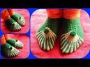 Beautiful Design Ladies Socks Easy Way 👌