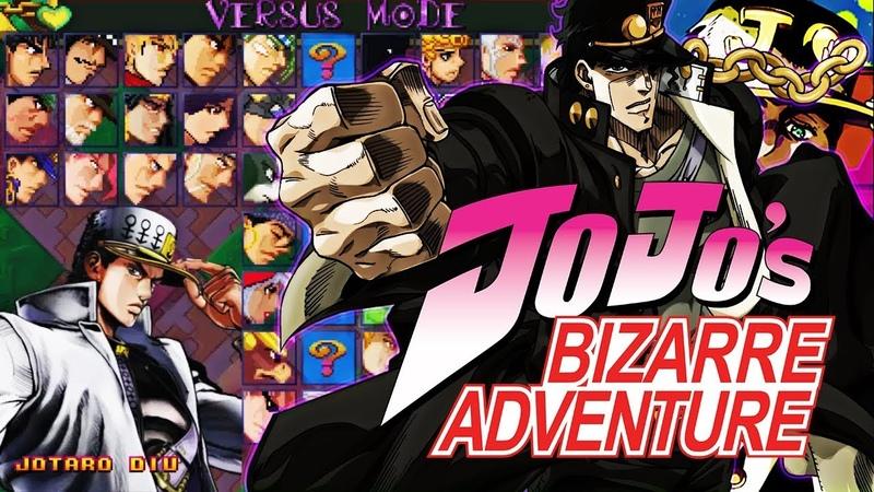 JoJo's Bizarre Adventure MUGEN 2018 - [DOWNLOAD]
