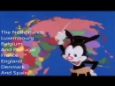 Yakko's World - But every country that has been attacked by the US since 1945 is a gunshot