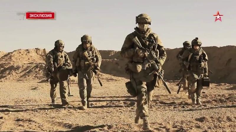 مشاهد لعمليات القوات الخاصة الروسية في سو15