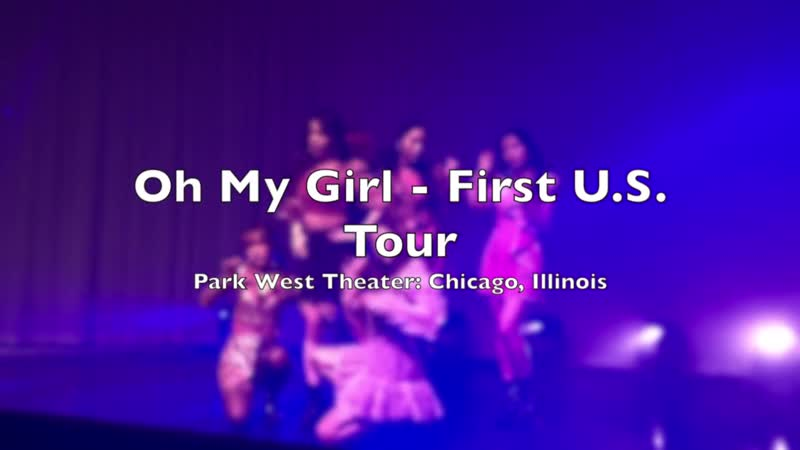 · Concert · 190120 · OH MY GIRL · 1st U.S TOUR in CHICAGO ·