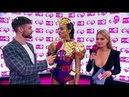 Ольга Бузова на красной ковровой дорожке премии RuTV 2018