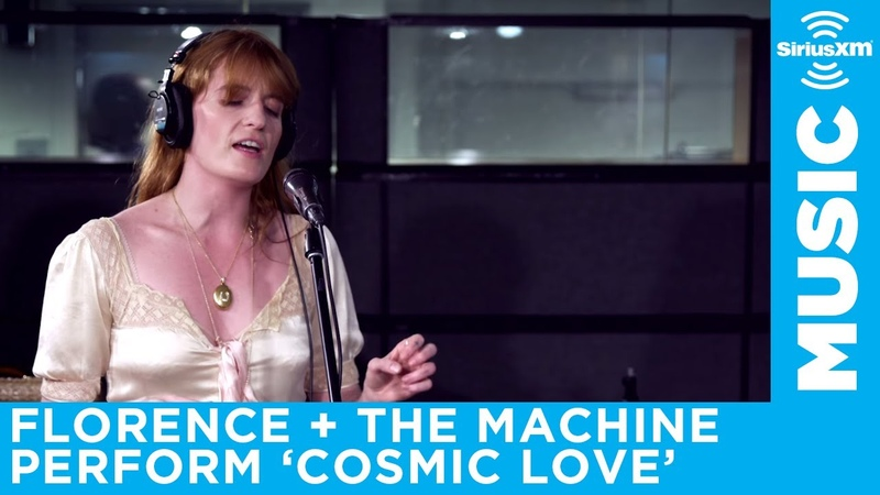 Florence The Machine perform Cosmic Love at the SiriusXM Studios