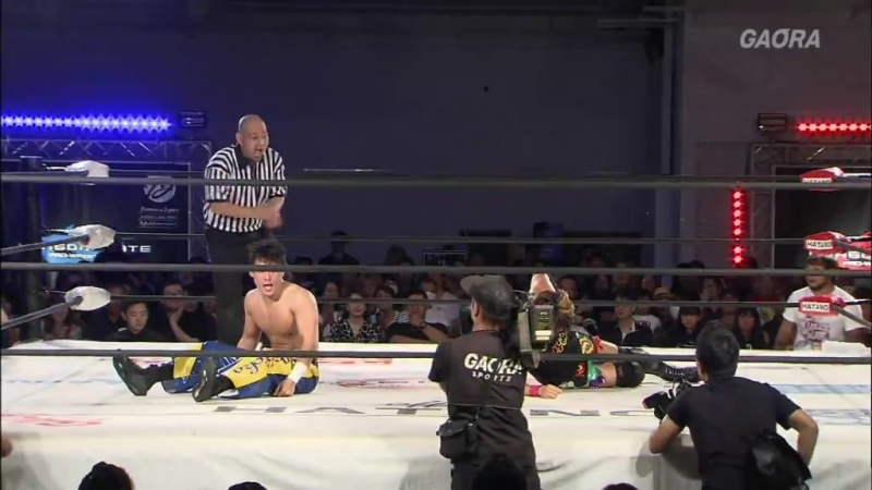 Susumu Yokosuka vs. Yuki Yoshioka (Dragon Gate - The Gate of Adventure 2018 - Day 13)