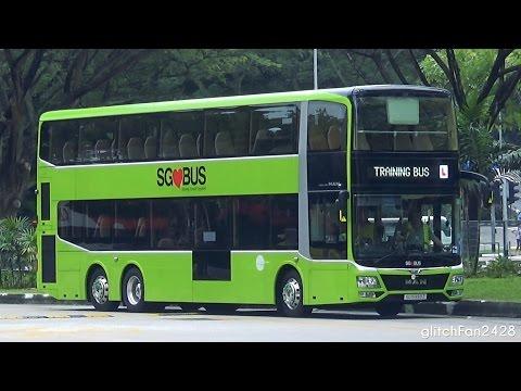 [TTS] 3 Door Concept MAN A95 12.8m - SG5999Z Training at Toa Payoh Interchange
