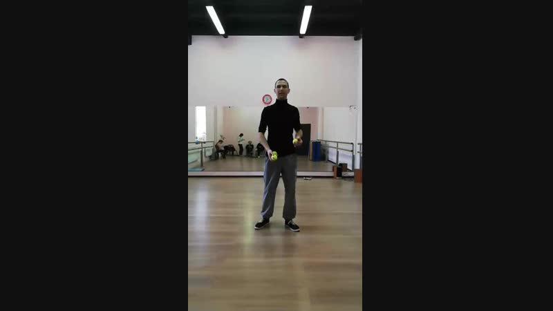 Уроки жонглирования в Москве