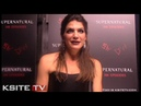 Genevieve Padalecki | Supernatural Episode 300 Carpet | Ruby