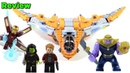 LEGO Avengers Infinity War 76107 Thanos Ultimate Battle review