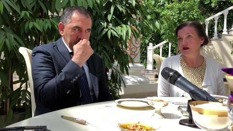 Гильдия межэтнической журналистики на приёме у главы Республики Ингушетия