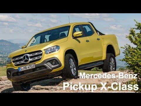 Mercedes-Benz Pickup X-Class | NEW premium pickup