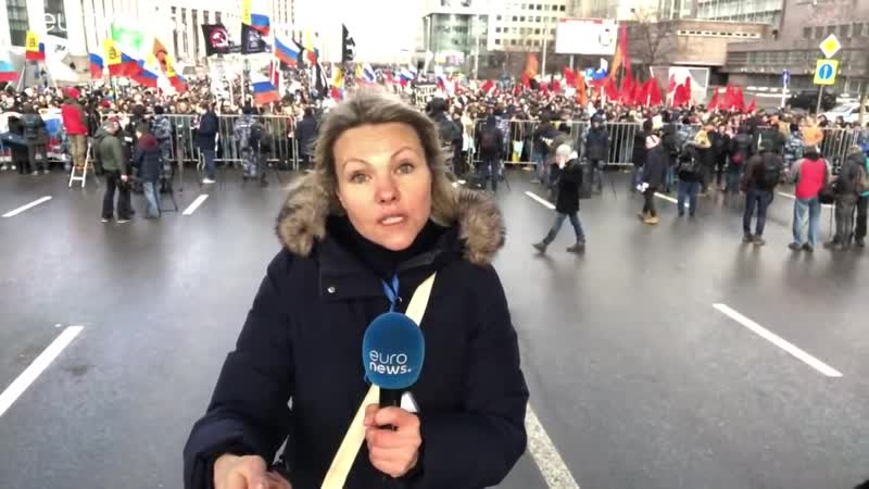 Thousands of Russians protest against internet restrictions