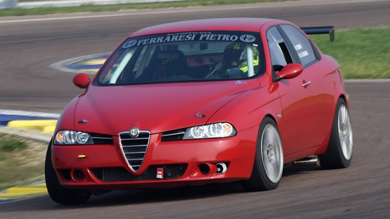 Alfa Romeo 156 V6 3.0 Busso - Pure engine sound on track on board