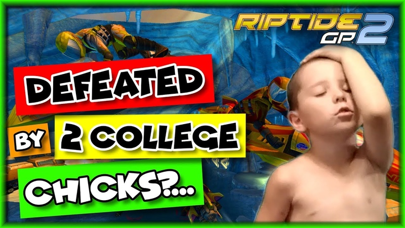 Riptide GP 2 Gameplay - (Defeated By College GIRLS )