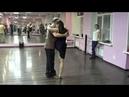 На практике. 08.11.2018 в школе аргентинского танго MIL PASOS