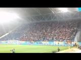 Гимн Украины на Днепр-Арене