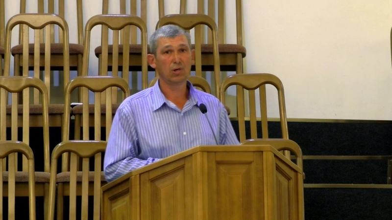 Проповедь (Иов.1.4 - 5) ко Дню отца - гость, брат Николай Манжай