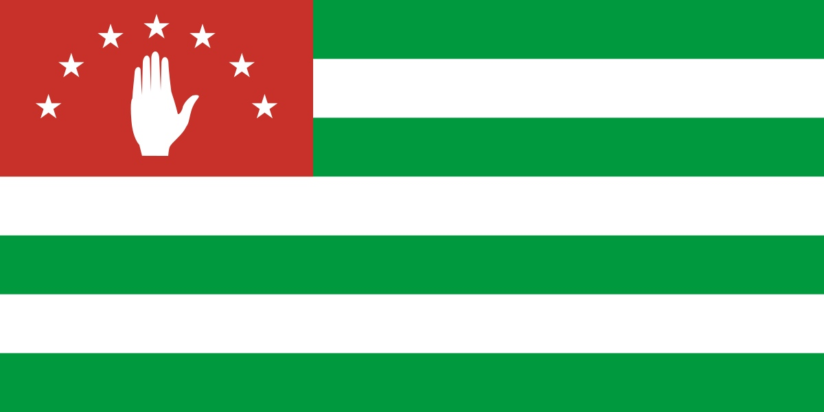 Флаг Абхазия