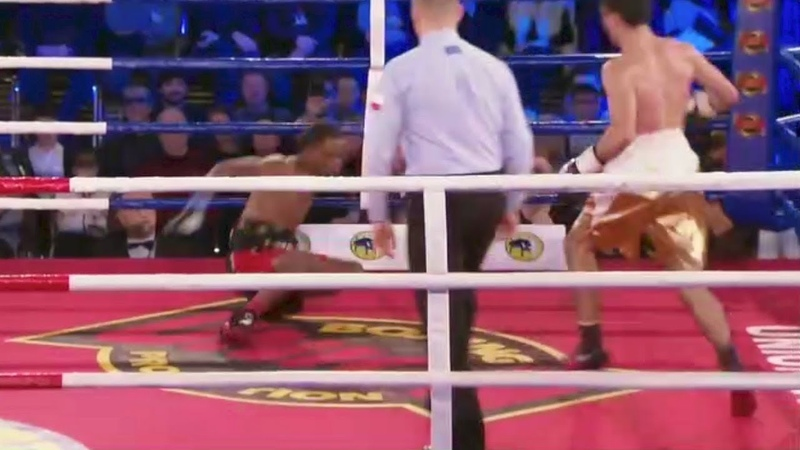 Artem Dalakian vs Gregorio Lebron Full Fight - Round 6 TKO