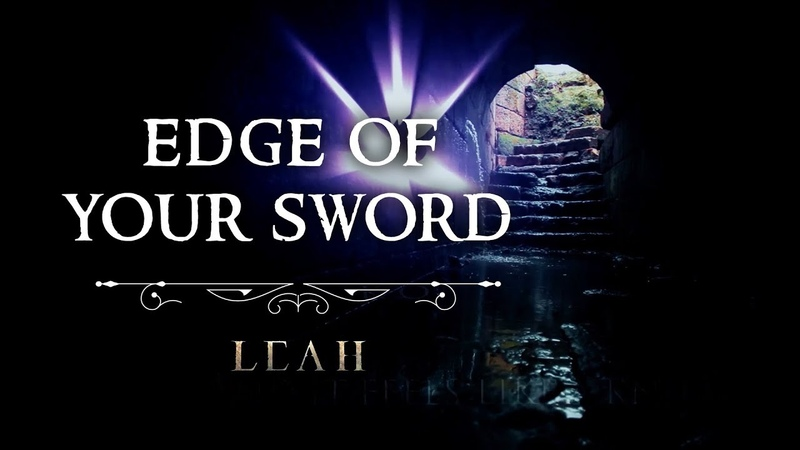 LEAH - Edge Of Your Sword [Official Lyric Video] Celtic Fantasy Metal Song