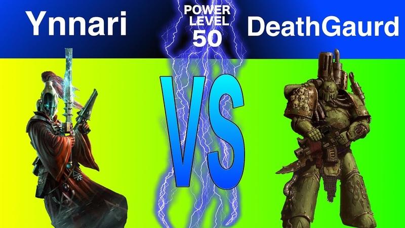 Warhammer 8th Edition Live Battle Report : Ynnari vs Deathgaurd (Feat. Nick Nanavati)