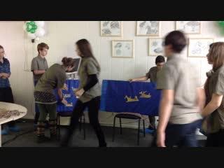 Петроглифы - защита исследования экспедиции по Карелии 2018