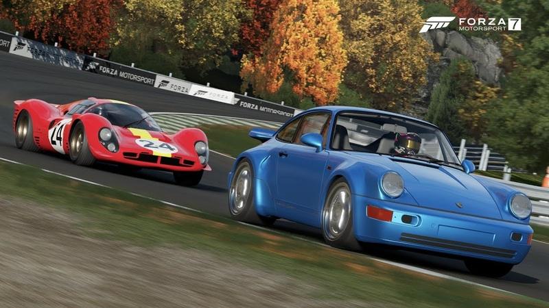 Forza Motorsport 7 Porsche 911 Turbo S Leichtbau test run (Ryzen 3 2200G RX 570 4Gb)