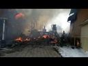 В поселке Красный Яр пожарные потушили крупный пожар (часть 2)