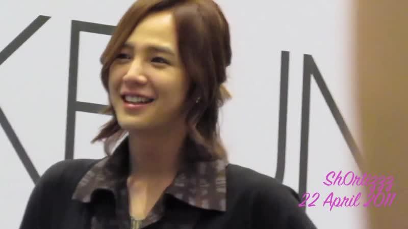 Jang Keun Suk 장근석 in Singapore CRI Show 22 April 2011 [Fancam]