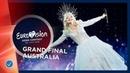 Australia LIVE Kate Miller Heidke Zero Gravity Grand Final Eurovision 2019
