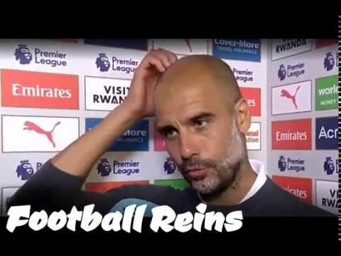 Arsenal vs Man City-Pep Guardiola Postmatch Interview