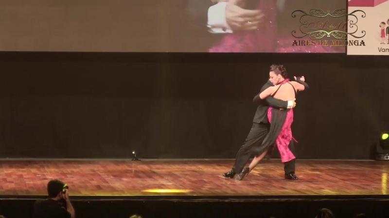 Mundial de Tango 2017 Final ESCENARIO Moscu, Zarate y Cali