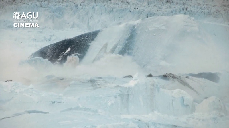 """""""Chasing Ice: Largest glacier calving ever filmed"""" Produced by Adam Lewinter Exposure Lab"""