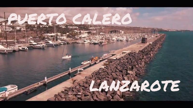 Puerto Calero   LANZAROTE a vista de dron