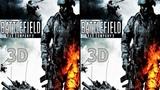 3D VR video Battlefield Bad Company 2 3D SBS VR box google cardboard