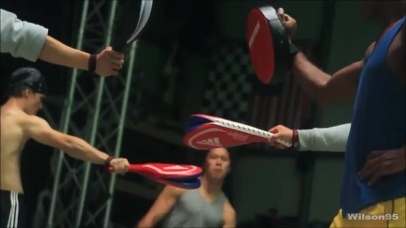 Сверхзвуковой азиат Cha-Lee Yoon - Martial Arts Tribute